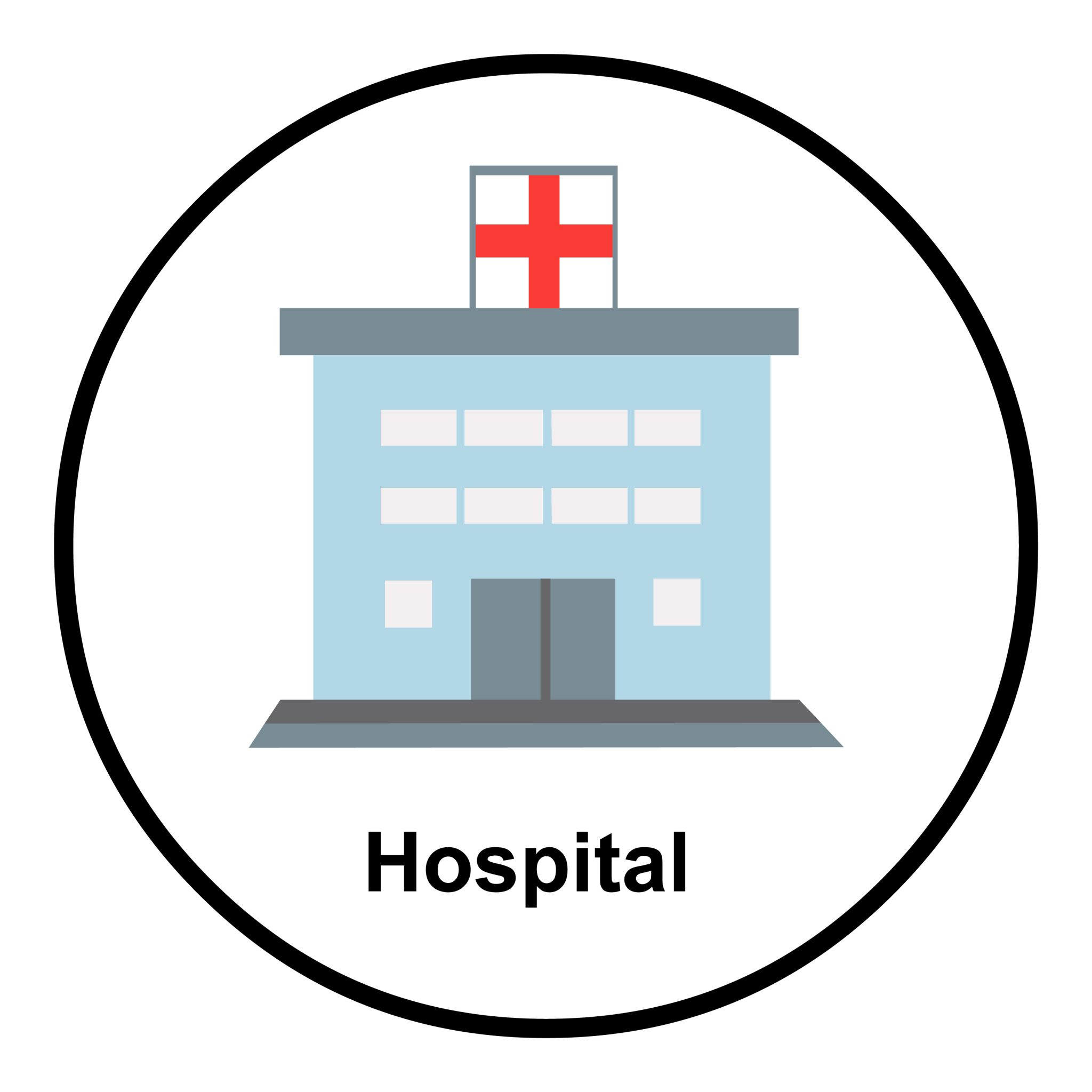 hospital and emergency