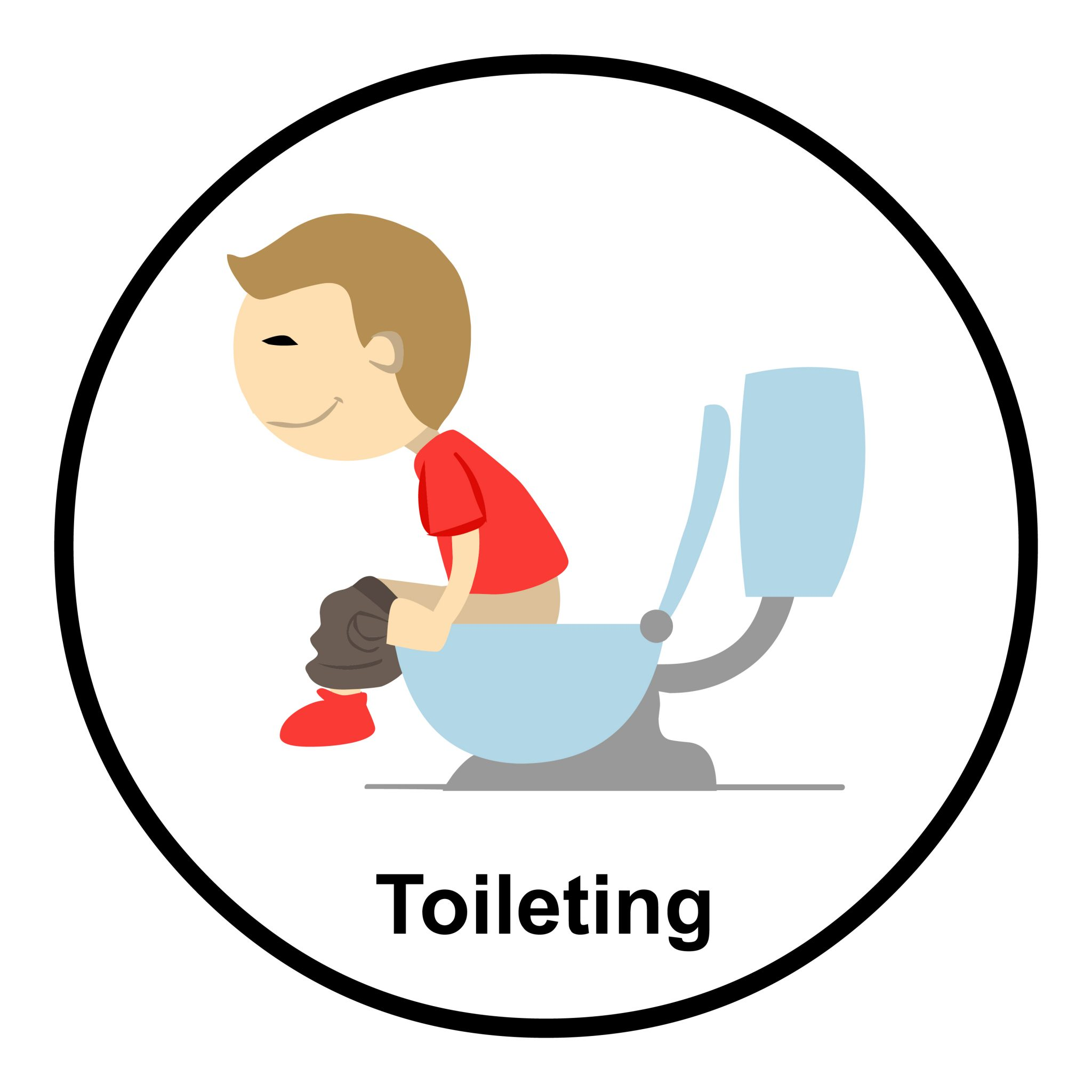 toileting